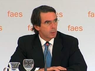 Aznar analiza la crisis griega