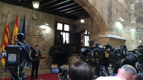 Ximo Puig anuncia los miembros del nuevo Consell