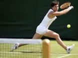 Carla Suárez, en Wimbledon