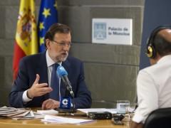 """Rajoy no se siente cuestionado y asegura estar """"muy c�modo"""" como l�der del PP"""