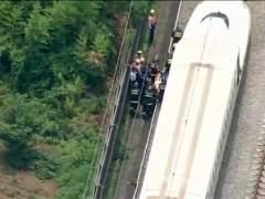 Se prende fuego en un tren bala japon�s