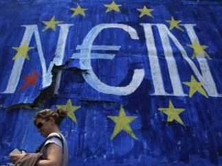 Rechazo popular al acuerdo en Grecia
