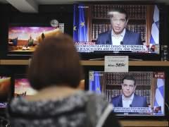 Tsipras pide el 'no' en el refer�ndum y dice que no se trata de la salida del euro