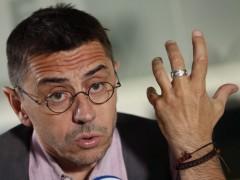 """Monedero acusa a los 'errejonistas' de actuar de forma """"deshonesta"""""""