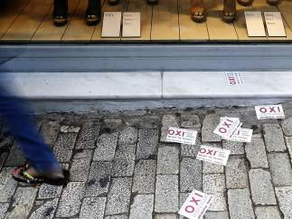 El 'no' al referéndum griego... ¿Por los suelos?