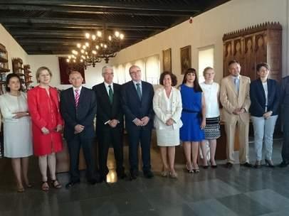 Nuevo equipo de gobierno de la Universidad de Granada.