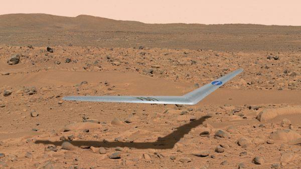 Avión para Marte