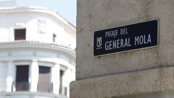 Calle franquista