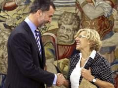 El rey recibe a Manuel Carmena