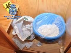 Laboratorio de cocaína