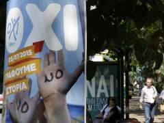 Grecia afronta el refer�ndum tras una campa�a bajo el corralito