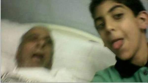 El niño y el abuelo muerto
