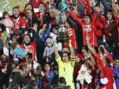 Chile, campeona de la Copa Am�rica