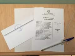 Directo: amplia diferencia del 'no' sobre el 's�' al inicio del escrutinio