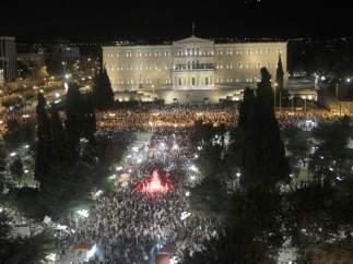 Panor�mica de la plaza Syntagma