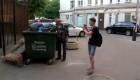 Un mendigo arrasa con su blog en Rusia