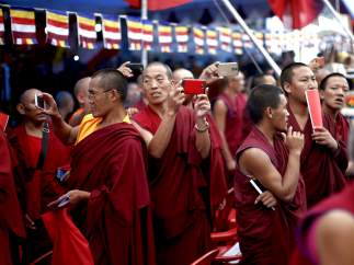 80 cumplea�os del Dal�i Lama