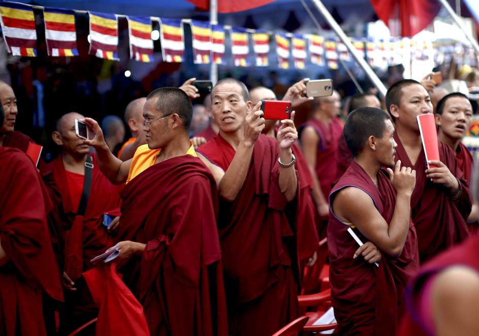 80 cumpleaños del Dalái Lama