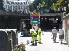 Las obras en puentes dificultar�n la movilidad en Madrid en verano