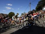 Froome y Contador en Huy
