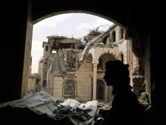 M�s de 100 muertos, la mayor�a civiles, en bombardeos de la coalici�n en Yemen