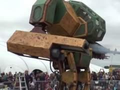 Robots gigantes de Jap�n y EE UU librar�n una batalla cuerpo a cuerpo