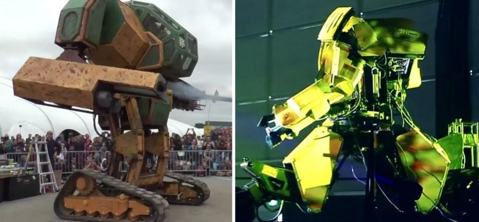 Robots gigantes de Estados Unidos y Japn librarn una batalla
