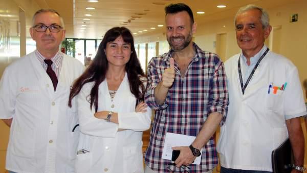 El hospital Josep Trueta extirpa con éxito un tumor del páncreas en una operación pionera