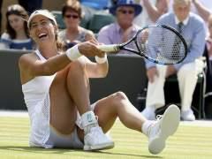 Muguruza hace historia y ya es semifinalista de Wimbledon