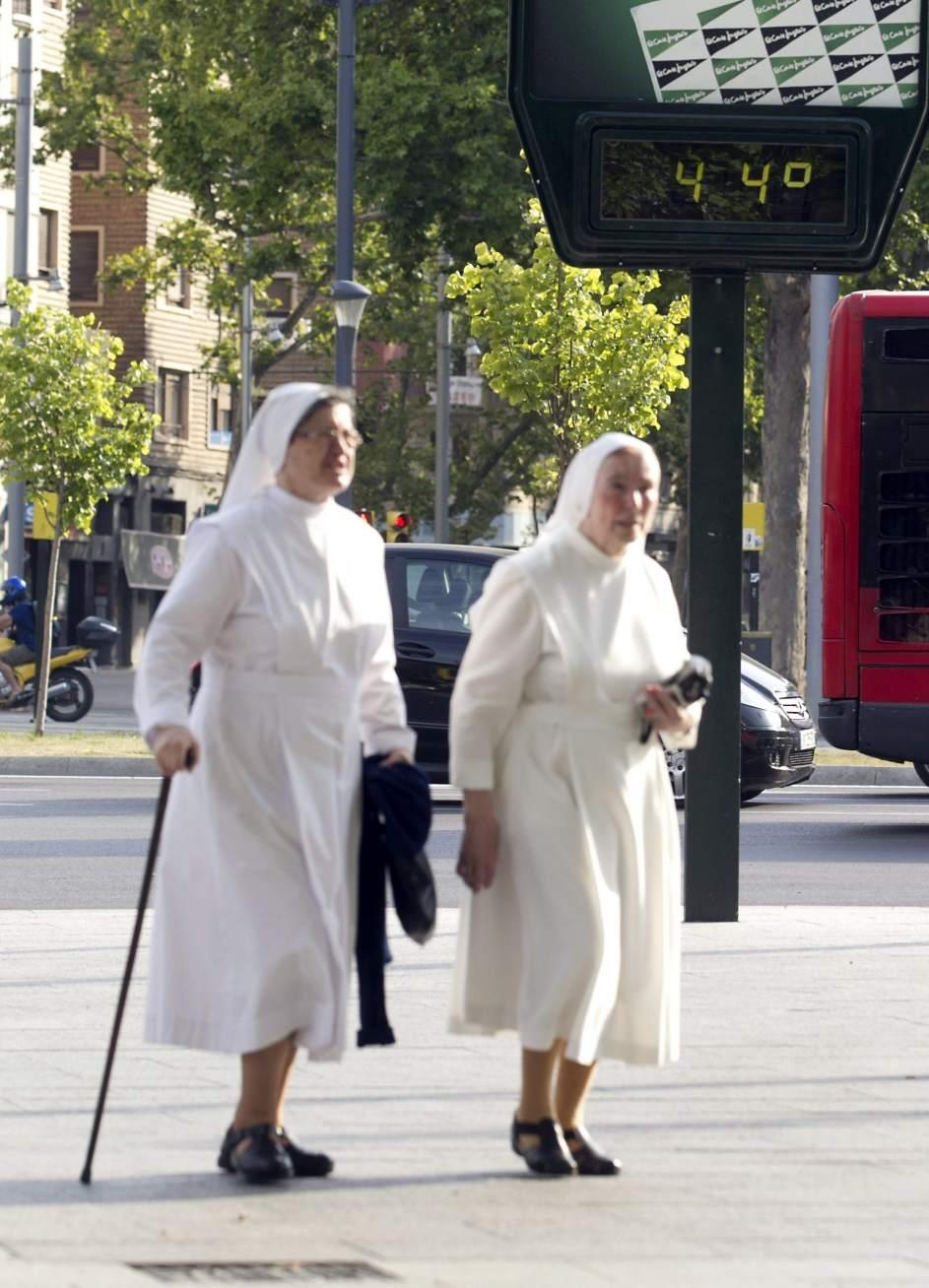44 grados en Zaragoza