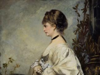 Hans Makart, Portrait of Magdalena Plach, 1870