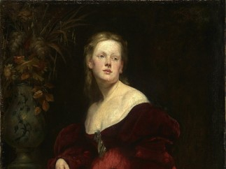 Hans Makart, Portrait Karoline Gomperz, about 1870