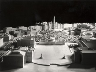 Hanns Dustmann, Redesign of Heldenplatz and the area in front of the City Hall, Vienna, 1942