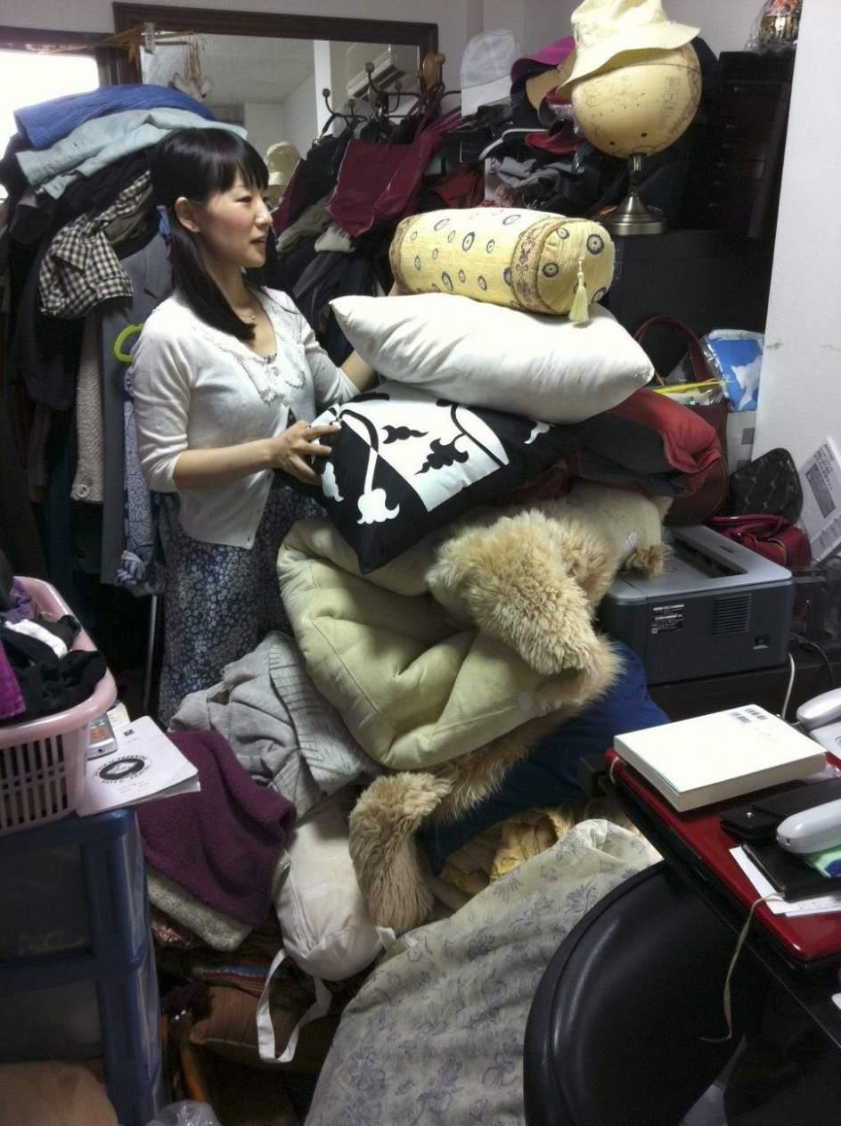Marie kondo la japonesa que pone orden en las casas de for Libros de marie kondo