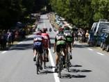 Fuga durante la séptima etapa del Tour 2015