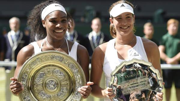 Serena y Garbiñe
