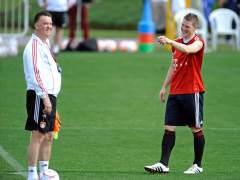Van Gaal y Schweinsteiger