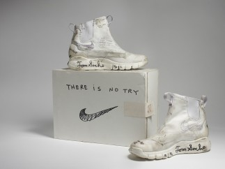 Nike x Tom Sachs. NikeCraft Lunar Underboot Aeroply Experimentation Research Boot Prototype, 2008�12