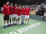 Equipo español para la Davis ante Rusia