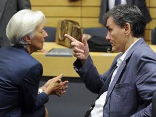 Lagarde y Tsakalotos