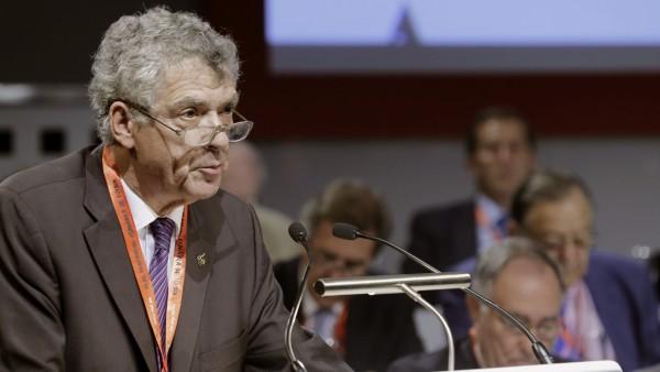 Ángel María Villar, en julio de 2015