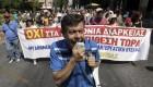 Ver v�deo Huelga de funcionarios en Grecia