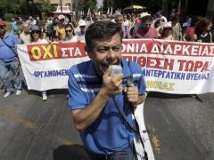 Primer día de la huelga general de 48 horas en Grecia