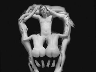 Piotr Uklański (born Poland, 1968) - 'Untitled (Skull)', 2000