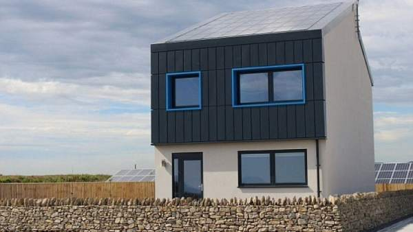 La casa Solcer, una casa sostenible
