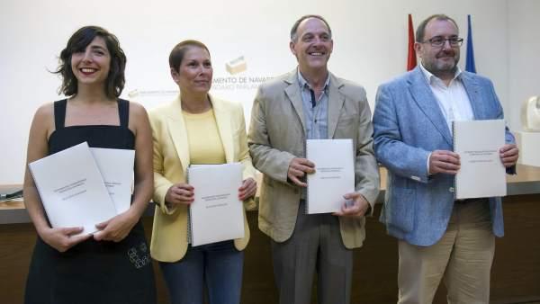 Acuerdo de Gobierno en Navarra