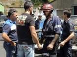Rescatan el cadáver del minero muerto en Oviedo