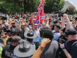 Enfrentamiento entre KKK y Black Panther Party