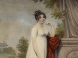 Adam Buck - Mary Anne Clarke by a statue, 1803