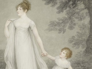 Adam Buck (1759‒1833) Adam Buck - Lady Cowper and son, 1807